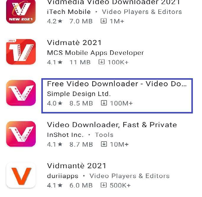 আসল Vidmate app APK